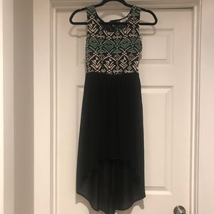 High low dress with a cute open back!